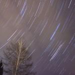 インターバル撮影と比較明合成(コンポジット)で試しに星空撮影しました。