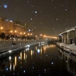 北海道小樽市、小樽運河で夜景撮影!!