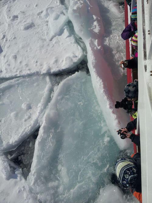 網走流氷砕氷船「おーろら」