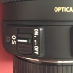 シグマ「17-50mm F2.8 EX DC OS HSM」のOS故障
