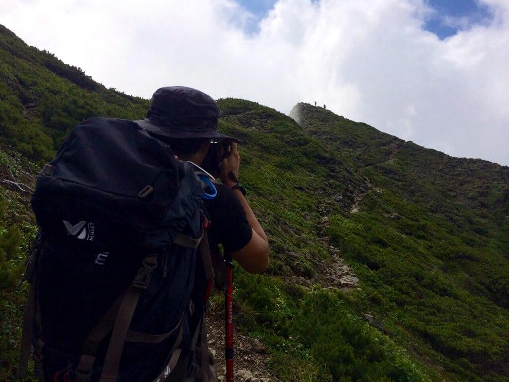 二ペソツ山、登山