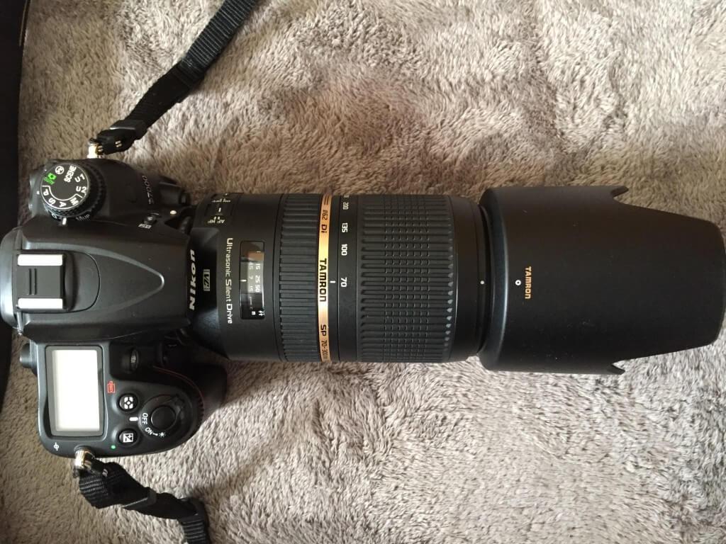 望遠ズームレンズ 「TAMRON(タムロン) SP 70-300mm F4-5.6 Di VC USD」