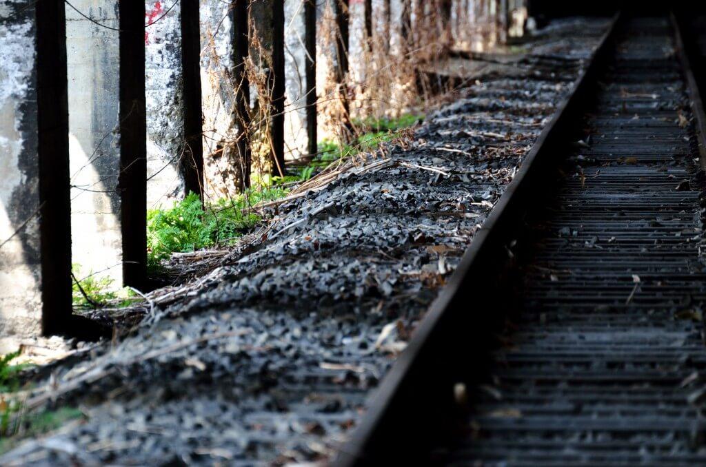 栗山旧鉄道