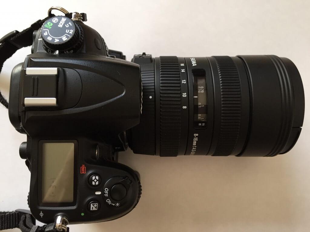 「シグマ 8-16mm F4.5-5.6 DC HSM」