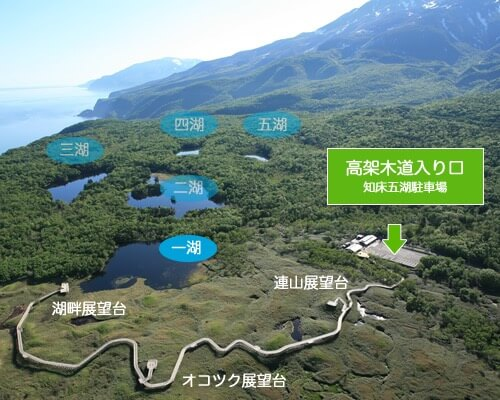 参考:知床五湖