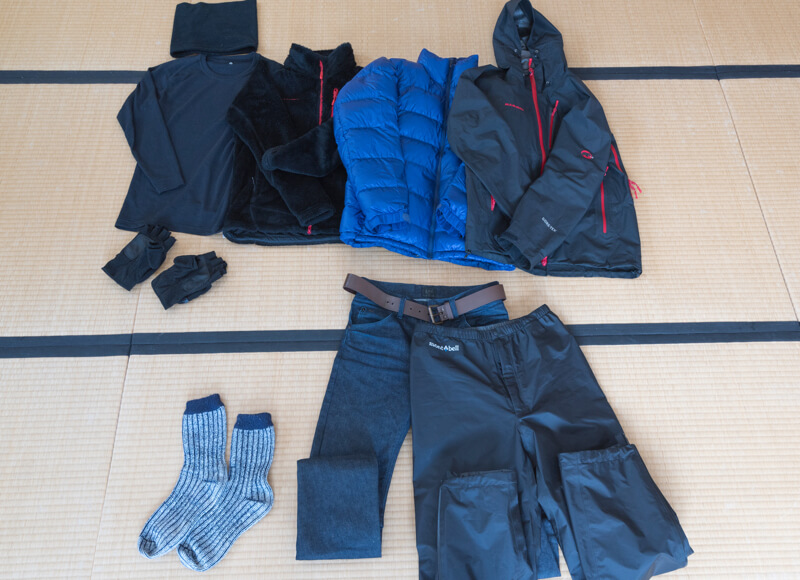 北海道厳冬期での写真撮影の服装ー20度以下での撮影を耐えた