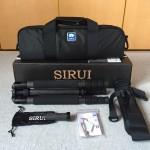 SIRUI(シルイ)の三脚(T2204X)を購入!カーボン製だけど安価でコスパ良!