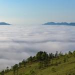 津別峠で雲海を撮影!超望遠レンズが欲しくなる!
