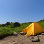 人生初めてのテント泊登山を振り返っての反省点!今年は3回もテント泊登山できた!