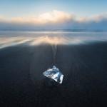 ジュエリーアイスを撮影!極寒の大津海岸に広がる宝石!