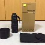 Nikon  AF-S NIKKOR 200-500mm f/5.6E ED VRを購入!待望の超望遠レンズの所感について!