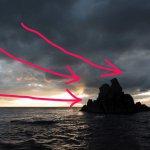 構図を組み立てる過程①!岩を長秒撮影した時に考えたこと!