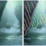 構図を組み立てる過程②!霧の樽前ガローで撮影した時に考えたこと。