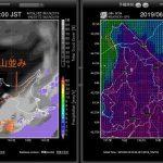 よく当たる天気予報はGPVやSCW!GPVとSCWの違いと使い方。雲海を予測してみよう。