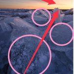 構図を組み立てる過程③!氷塊を撮影した時に考えたこと。