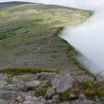 緑岳で天の川を撮影してきた。爆風で星空を撮影。