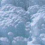 凍結した山彦の滝に行ってきた。