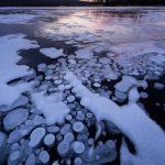 結氷した阿寒湖でアイスバブルを撮影してきた!