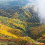 紅葉の銀泉台へ。赤岳から緑岳を登山。