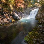 紅葉の滝を撮影してきた。ダイナミックな滝を撮る。